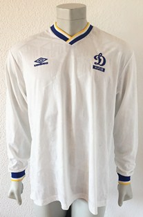 Dynamo Kyiv Kiev match worn shirt 1993/94