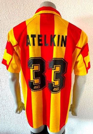 Lecce match worn shirt, by ukrainian Serhiy Atelkin